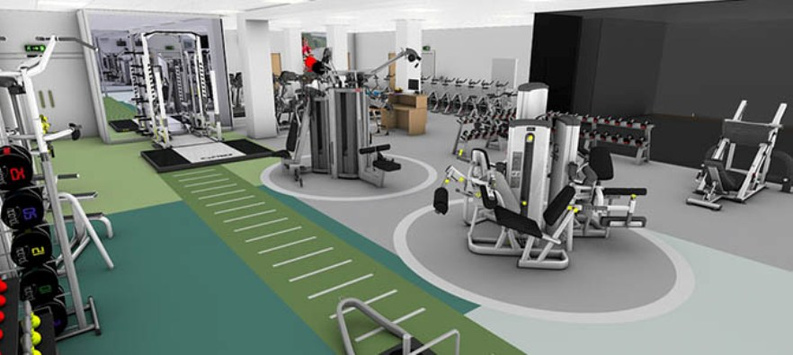 Awesome Commercial Gym Design Ideas Images - Home Design Ideas ...
